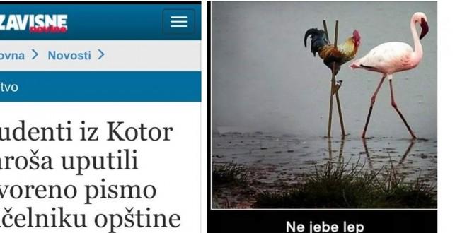 Nove bljuvotine Slavka Đukića: Studente uporedio sa životinjama